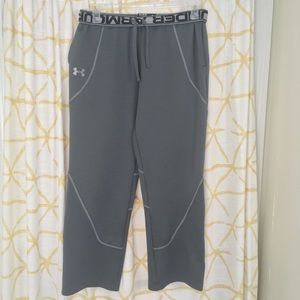 UNDER ARMOR Embroidered Logo Waistband Loose Pants